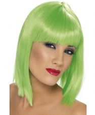 Glam Neon Wig (Green)